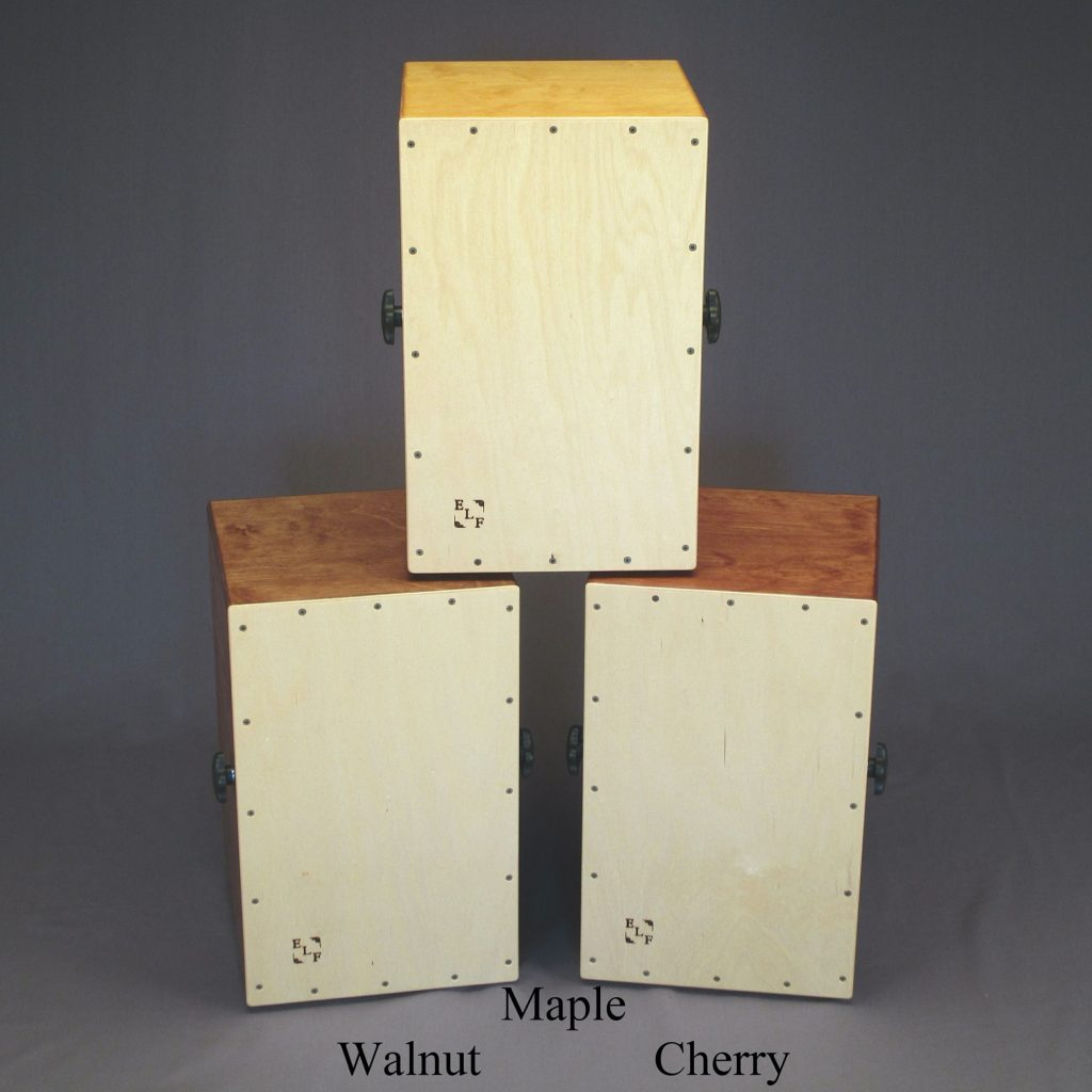 Cajons or Drum Boxes (Square Format)